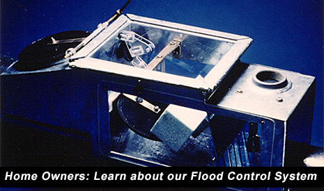 Learn about our flood control system